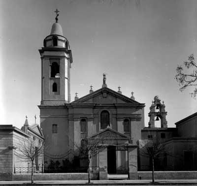 Hno. Andrea Bianchi. Iglesia Nuestra Señora del Pilar
