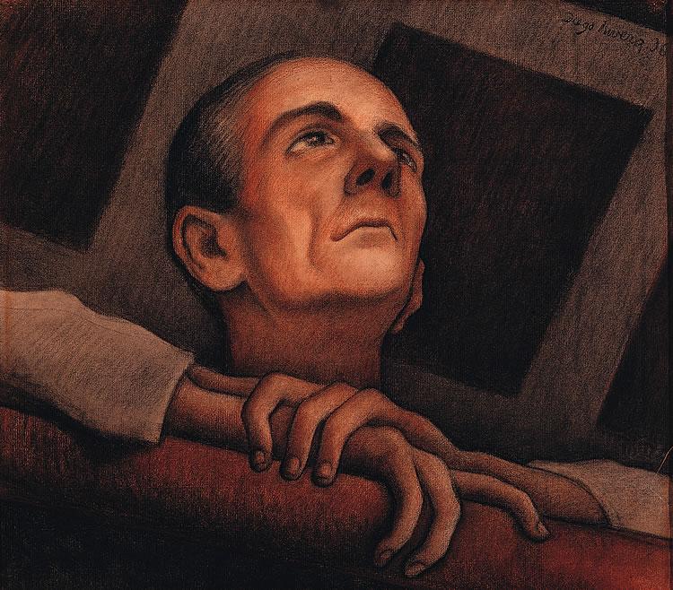 obras de diego rivera. Diego Rivera Retrato de Oscar