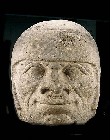 Cabeza colosal / San Lorenzo / Tenochtitlan / Cultura Olmeca