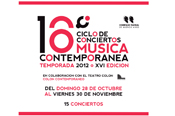 CONTEMPORARY MUSIC SERIES.  NOCTURNO by Edgardo Rudnitzky ENSEMBLE 2E2M / Concert