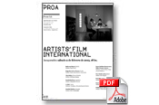 Artists' Film International. Opening: Saturday, February 2nd – 6 PM